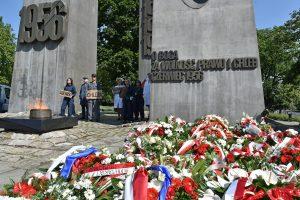 Poznaniacy uczcili pamięć ofiar Czerwca '56  Foto: materiały prasowe / UMP