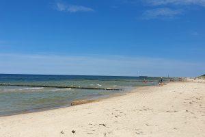 Plaża nad Bałtykiem  Foto: lepszyPOZNAN / S9+