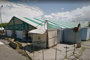 Targowisko Dolna Wilda - Bema  Foto: Google Street View