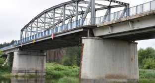 Stary most w Rogalinku  Foto: Archiwum Urzędu Marszałkowskiego Poznań