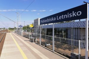 Rozbudowa dworców kolejowych w Pobiedziskach  Foto: UMiG Pobiedziska