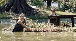 Pływające ogrody w parku Wilsona  Foto: materiały prasowe / UMP