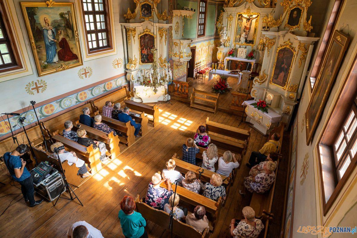 Zabytkowy kościółek św. Krzyża po remoncie Foto: DARIA KOCZOROWSKA