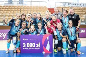 Turniej Final Four Ekstraligi futsalu kobiet  Foto: materiały prasowe
