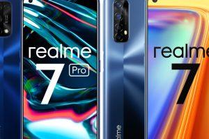 Realme 7 Pro / Realme 7  Foto: mat. prasowe