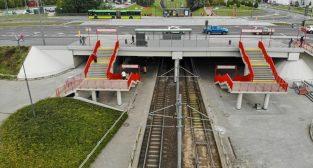 Odnowiony wiadukt na ul. Szymanowskiego  Foto: PIM