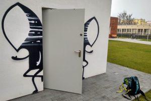 Graffiti Noriakiego na Domu Autysty  Foto: materiały prasowe / Fundacja Dom Autysty