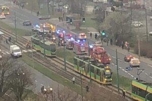 Wypadek Zamenhofa  Foto: Alert Poznan
