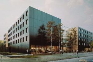 Nowy akademik na Morasku  Foto: materiały prasowe / UMP