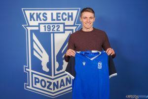 KKS Lech Poznań - Adrian Laskowski  Foto: materiały prasowe /  lechpoznan.pl / Karol Mędak