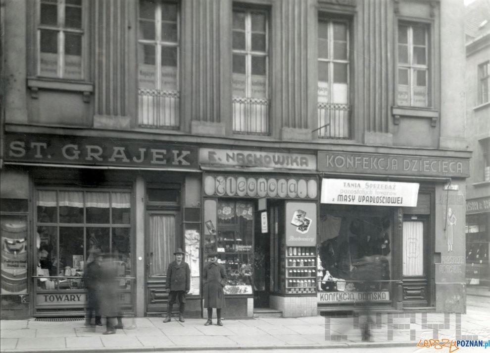 Stary Rynek [Pałac Mielżyńskich] sklepy  Foto: Foto Luna / MKZ