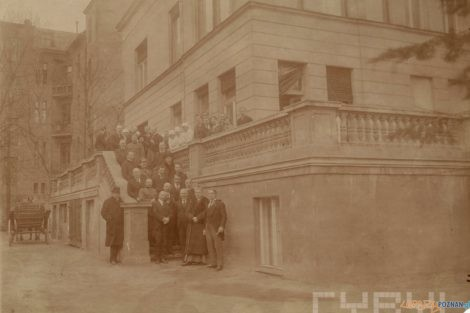 Ireneusz Wierzejewski w klinice im. Gasiorowskiego 1923  Foto: wł. Małgorzata Wierusz - Kozłowska / Muzeum UMP / Cyryl