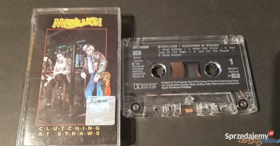 marillion-clutching-at-straws-1987-kaseta  Foto: sprzedajemy.pl