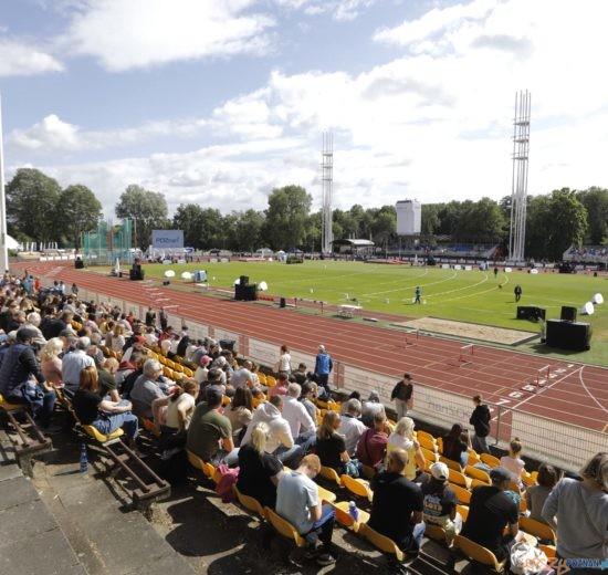Poznań Athletics Grand Prix - stadion w czasie zawodów  Foto: materiały prasowe