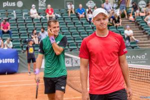 Maks Kasnikowski (POL)/Daniel Michalski (POL) vs Ruben Gonzales  Foto: Paweł Rychter