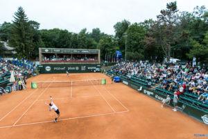 Bernabe Zapata Miralles (ESP) vs Jiri Lehecka (CZE)- Poznan Open  Foto: Pawel Rychter