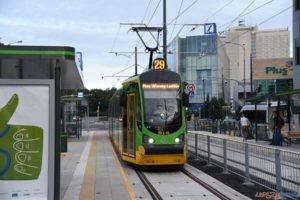 Krolowej Jadwigi tramwaj torowisko przystanek 2017_09_03 (25)  Foto: UMP / materiały prasowe