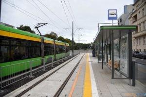 Krolowej Jadwigi tramwaj torowisko przystanek 2017_09_03 (14)  Foto:
